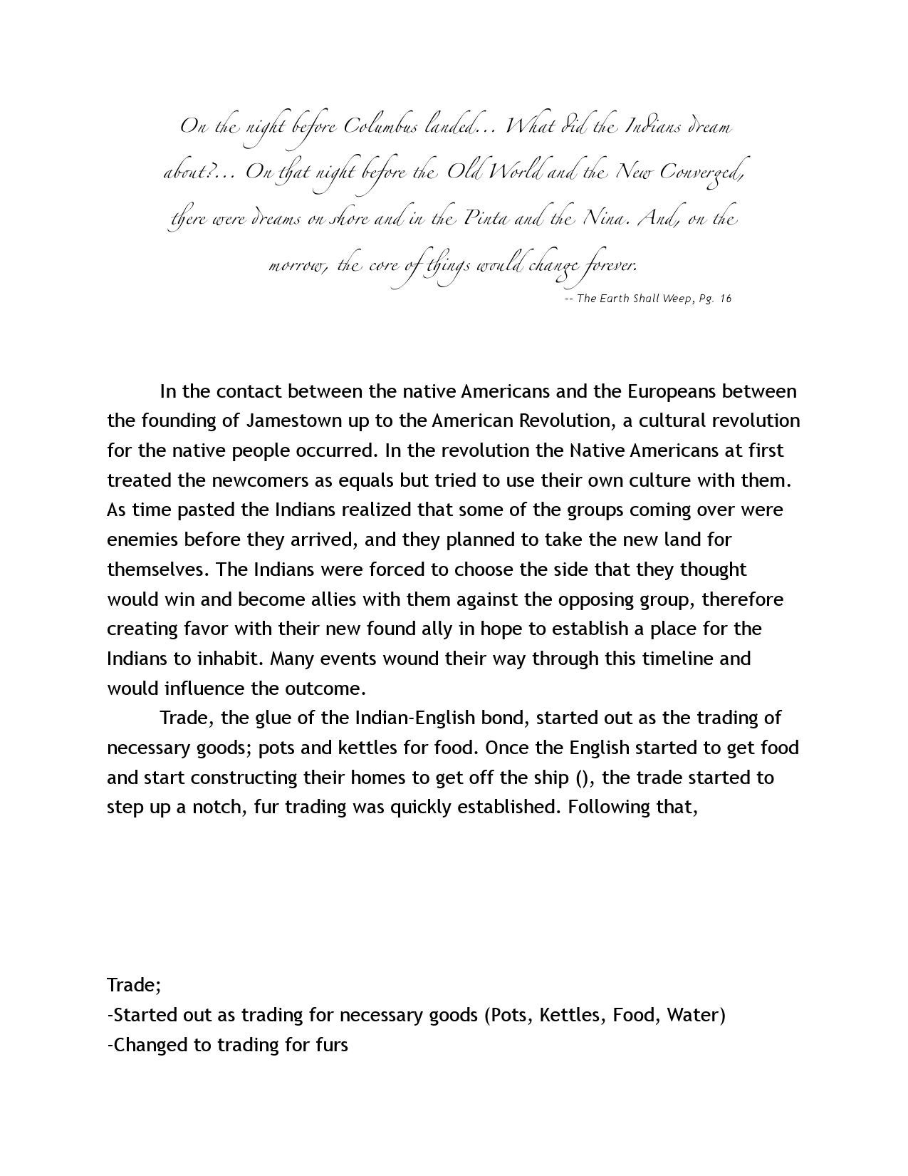 change over time essay on imperialism