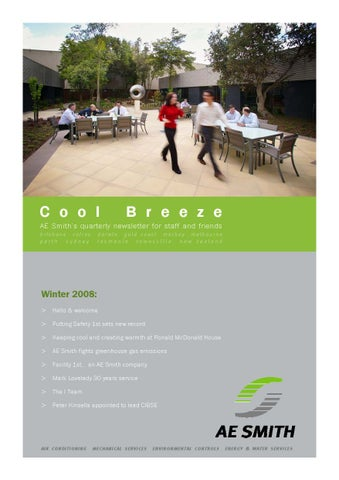 COOL BREEZE winter 2008 -- COOL BREEZE by AE Smith