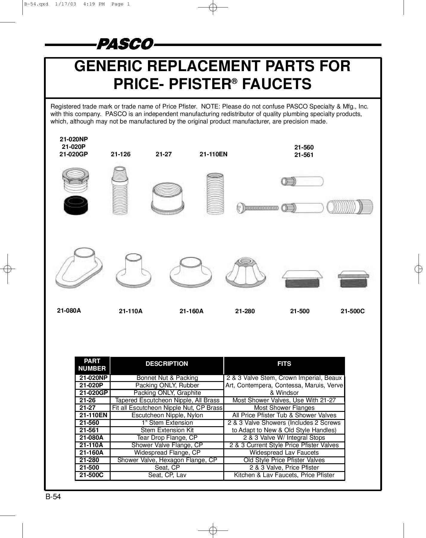 Issuu plumbing parts catalog by f w webb company