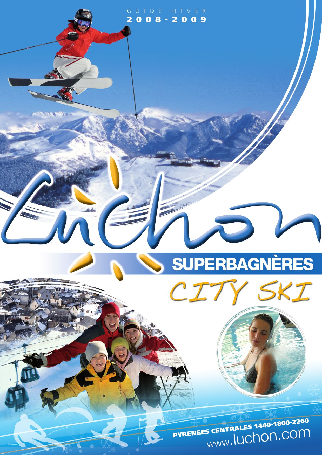Issuu luchon superbagn res city ski winter 2008 2009 by office de tourisme de luchon - Office de tourisme luchon ...