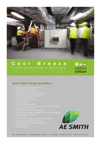 COOL BREEZE Green Cities 09 special edition (autumn 2009) -- COOL BREEZE by AE Smith