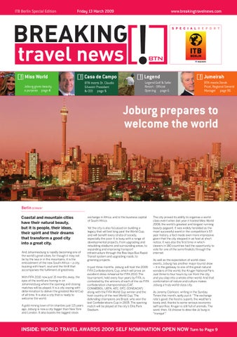 Breaking Travel News Special Edition - ITB Berlin 2009 Day 3