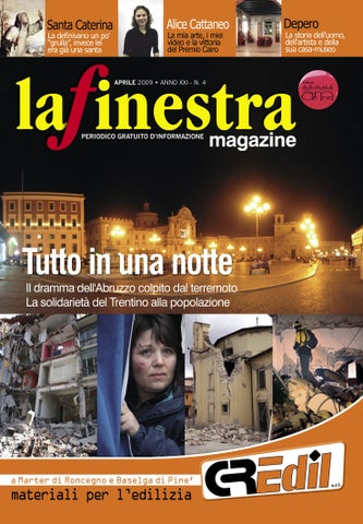 Issuu la finestra aprile 2009 by a a - La finestra biz ...