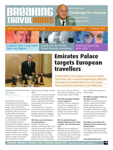 Breaking Travel News Special Edition - ITB Berlin 2007 Day 3