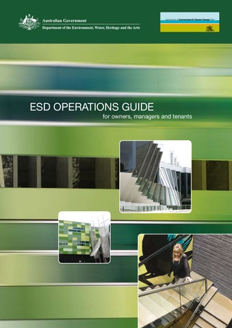 ESD Operations Guide for owners, managers and tenants -- AE Smith