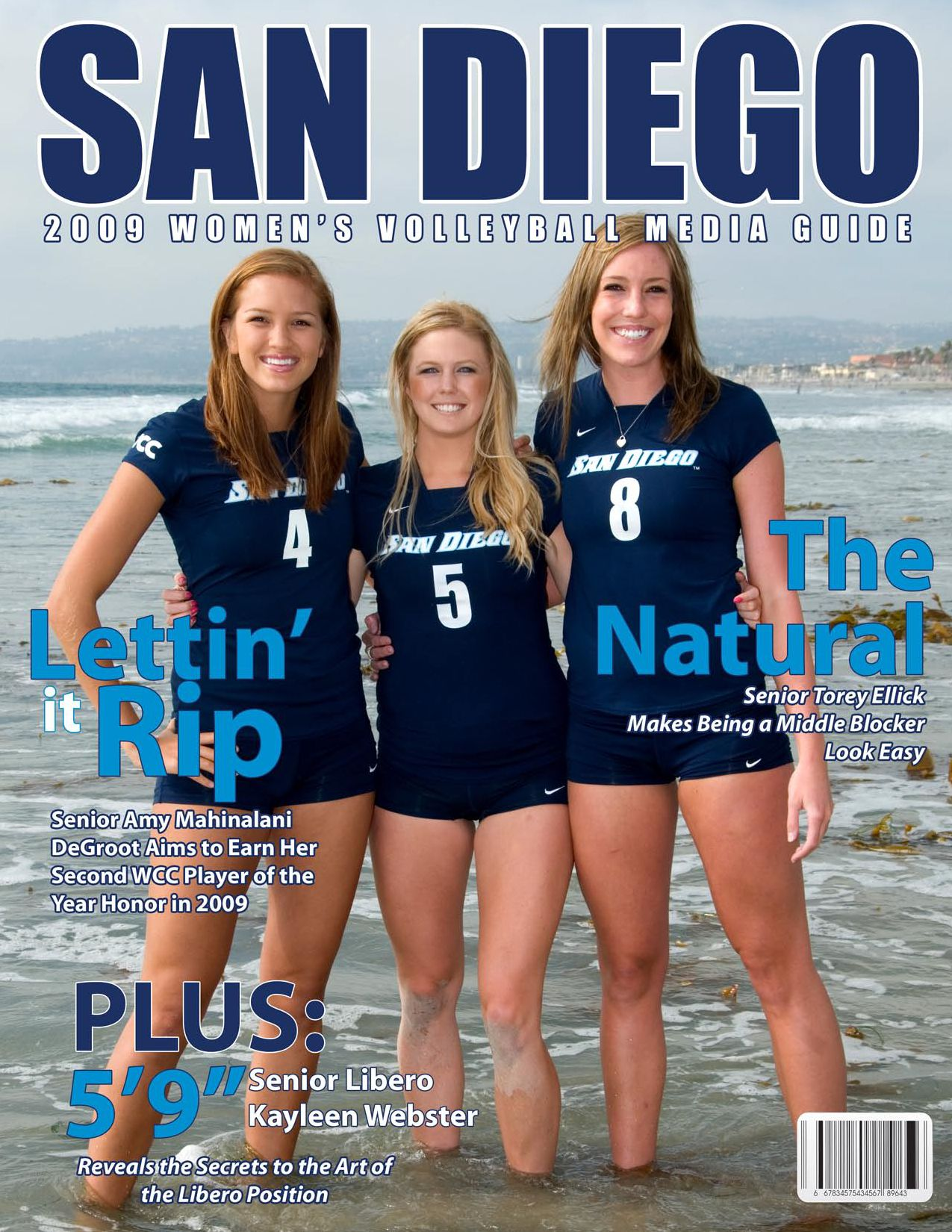 ISSUU - 2009 USD Women's Volleyball media Guide by Chris ...