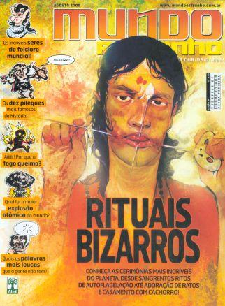 Revista Mundo Estranho - Agosto de 2009