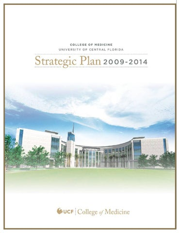 UCF College of Medicine Strategic Plan