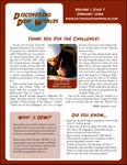 February 2008 Newsletter: vol.1, iss.7