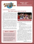 April 2008 Newsletter: vol.1, iss.9