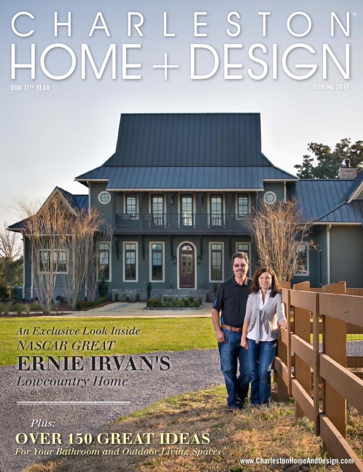 Issuu charleston home design spring 2010 by charleston for Charleston home design magazine