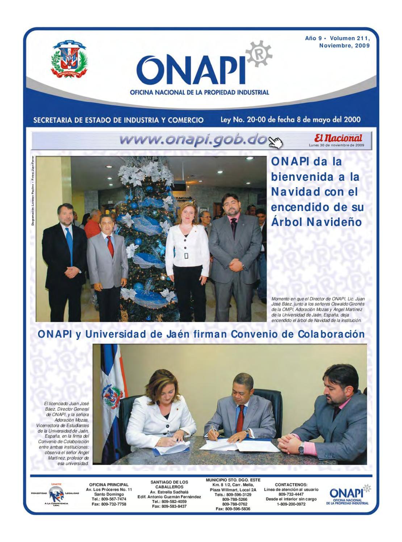 Issuu onapi30nov093 by oficina nacional de la propiedad for Oficina nacional de fiscalidad internacional