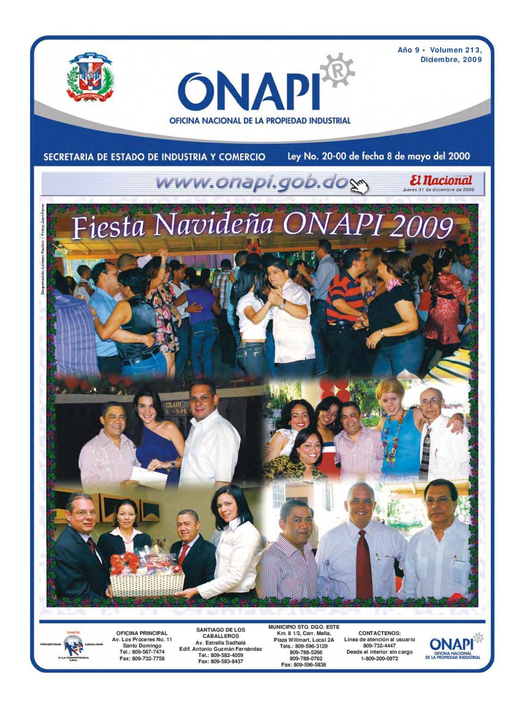 Issuu onapi31dic20092 by oficina nacional de la for Oficina nacional de fiscalidad internacional