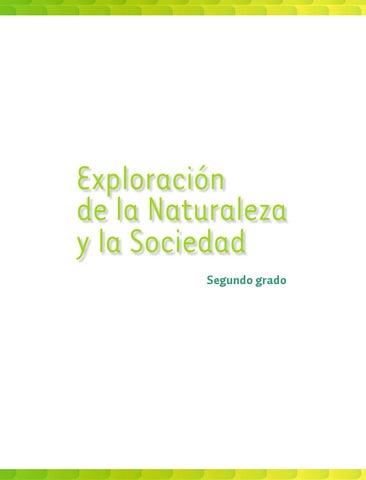 Exploración de la Naturaleza y la Sociedad 2do. Grado