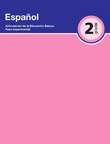 Español 2do. Grado