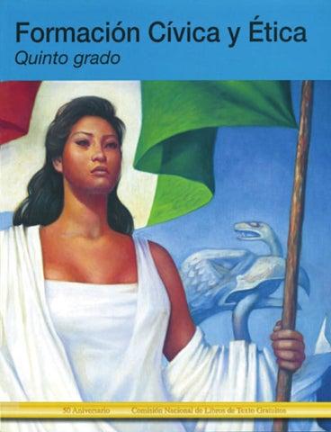 Formación Civica y Etica 5to. Grado