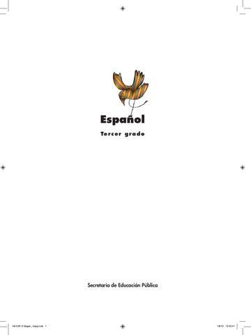 Español 3er. Grado