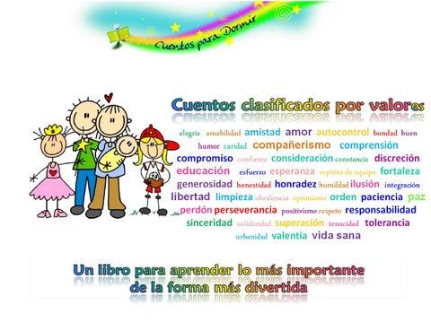 Cuentos infantiles para enseñar valores