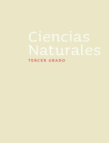 Ciencias Naturales 3er. Grado 2010-2011