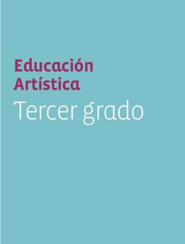 Educación Artistica 3er. Grado