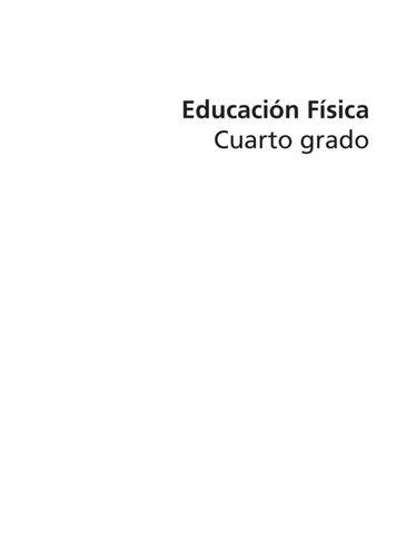 Educación Fisica 4to. Grado