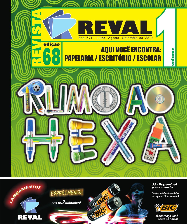 revista reval 68 01 by reval atacado de papelaria ltda