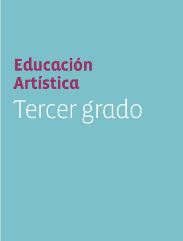 Educación Artística 3er.Grado