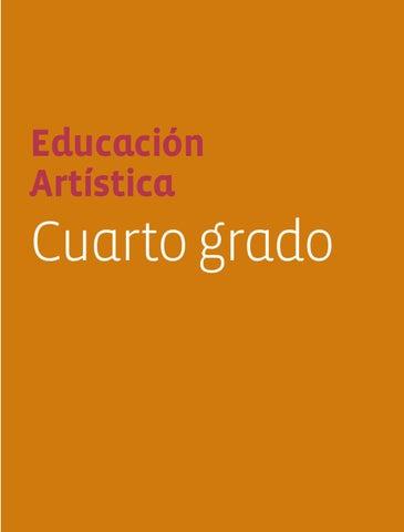 Educación Artística 4to. Grado