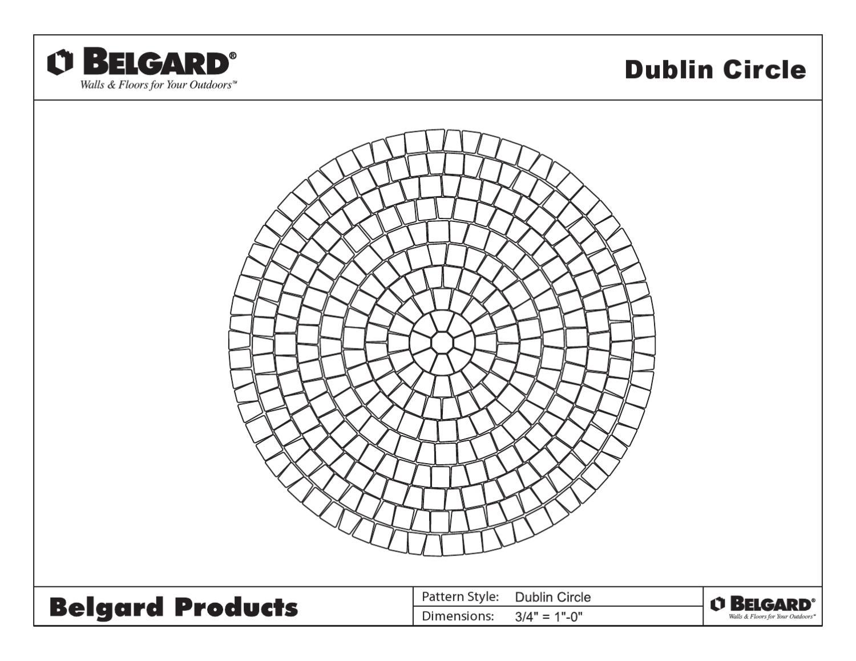 Issuu Belgard Circle Paver Patterns By First Coast