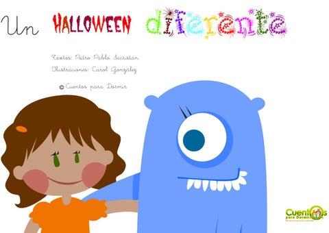 Un Halloween diferente. Cuento infantil ilustrado