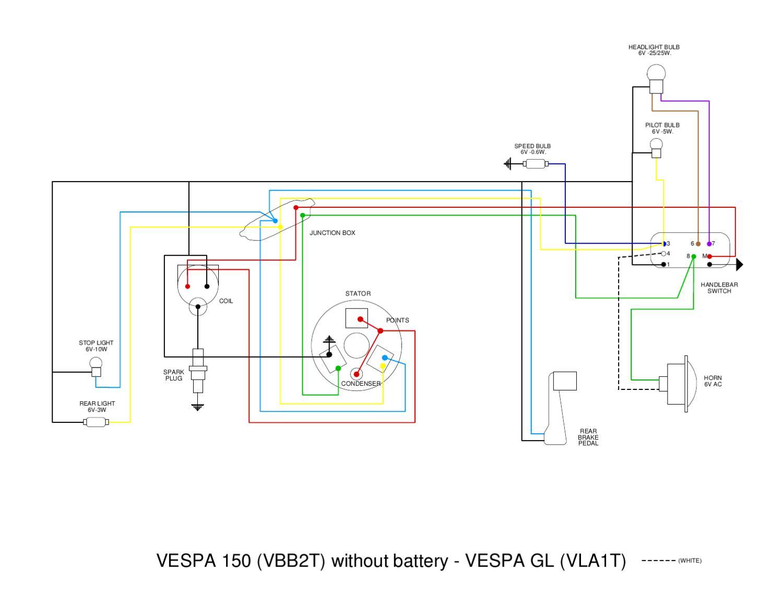 Vespa Vb Wiring Diagram By Et3px Et3px  Page 1