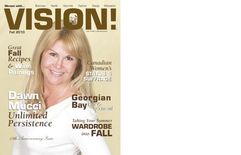 Women With Vision!™ - Fall, 2010