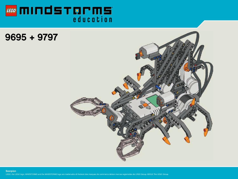 знакомство с конструктором lego mindstorms nxt