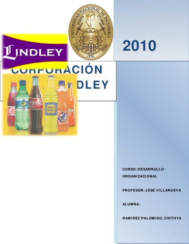 Issuu Corporacion Jr Lindley By Cinthya Ramirez Palomino