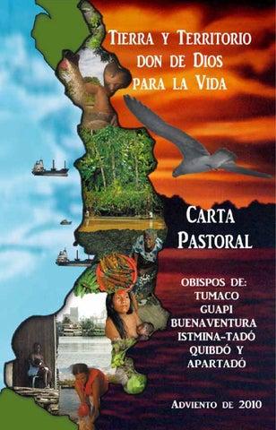 OBISPOS DEL PACÍFICO. Carta Pastoral Tierra y Territorio. Don de Dios para la Vida. Adviento de 2010