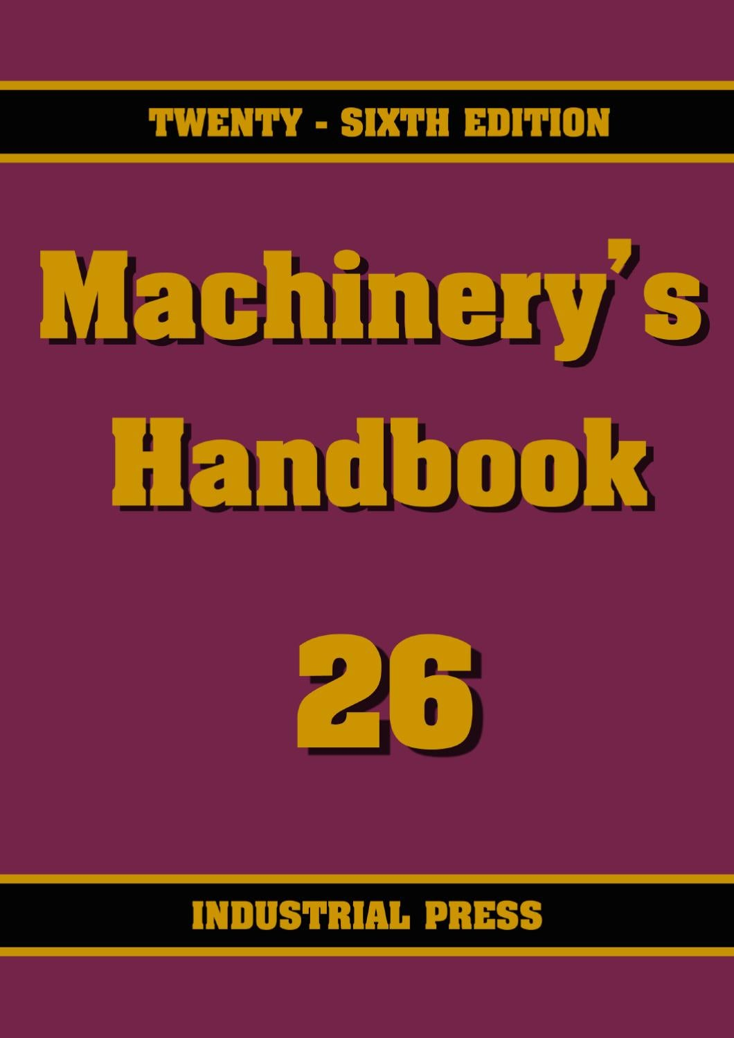 Machinery's Handbook, 18th ed.1970, Oberg and Jones, Mechanical Eng., Drafting,