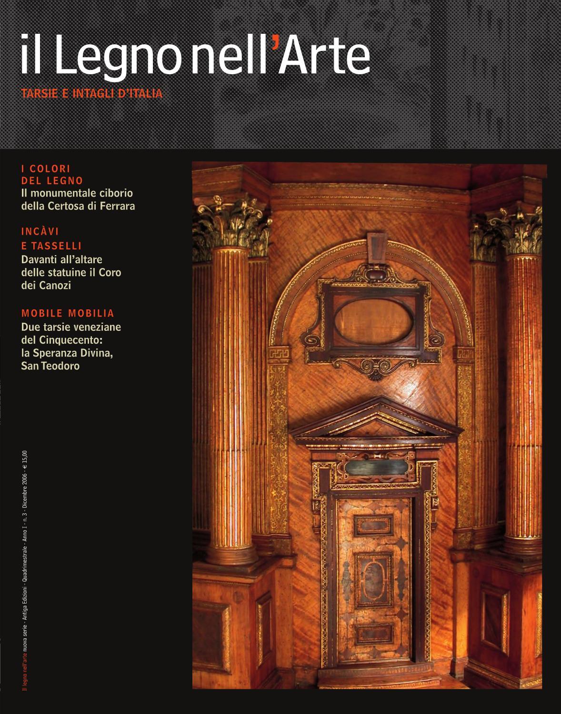 Issuu il legno nell 39 arte tarsie e intagli d 39 italia by for E mobilia paris
