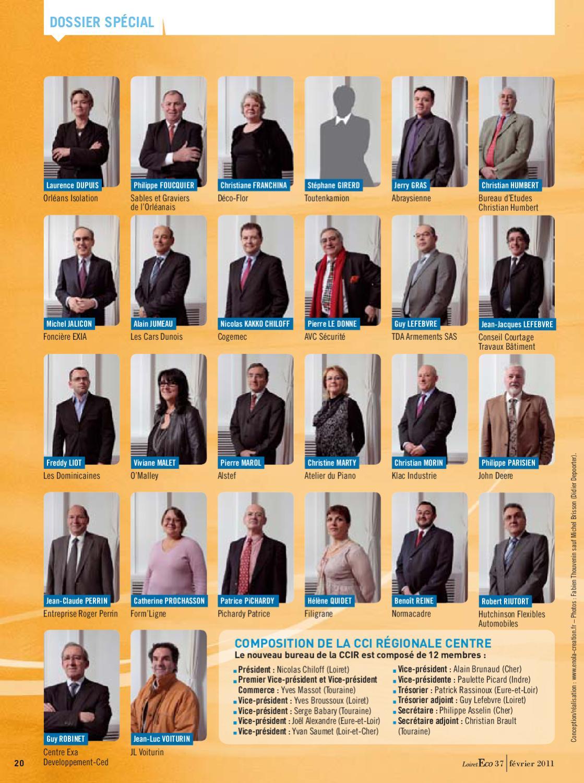 Issuu loiret eco n 37 f vrier 2011 by cci for Chambre de commerce et d industrie d eure et loir
