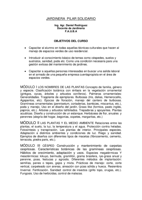 Issuu programa curso de jardineria by marcos gaviola for Curso de jardineria