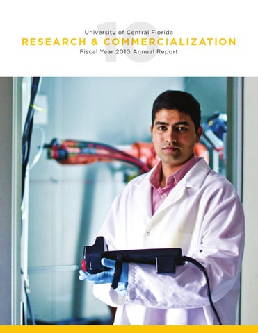 UCF Office of Research & Commercialization Annual Report 2010