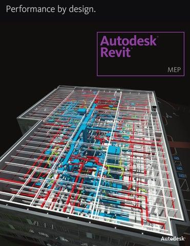 Autodesk Revit MEP Building Information Modeling (BIM) software for