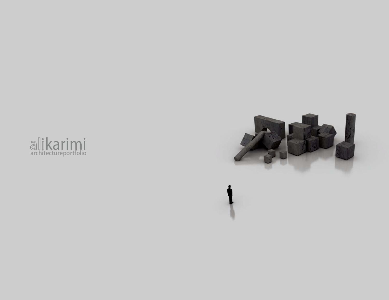Ali Karimi Architecture Portfolio by Ali Karimi