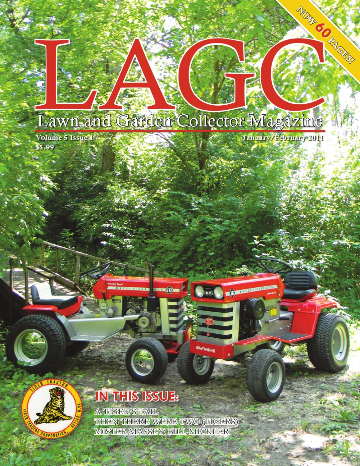Issuu lagc lawn and garden collector by lagc magazine lawn and garden collector for A b lawn and garden