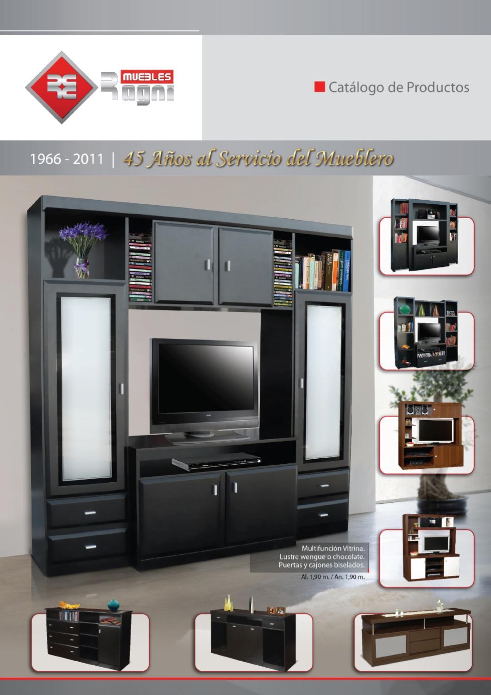 Issuu folleto ragni muebles 2011 by damian garnero - Fabrica muebles portugal ...