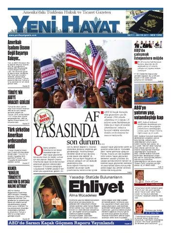 Yeni Hayat Gazetesi, Mayıs 2011, Sayı 1