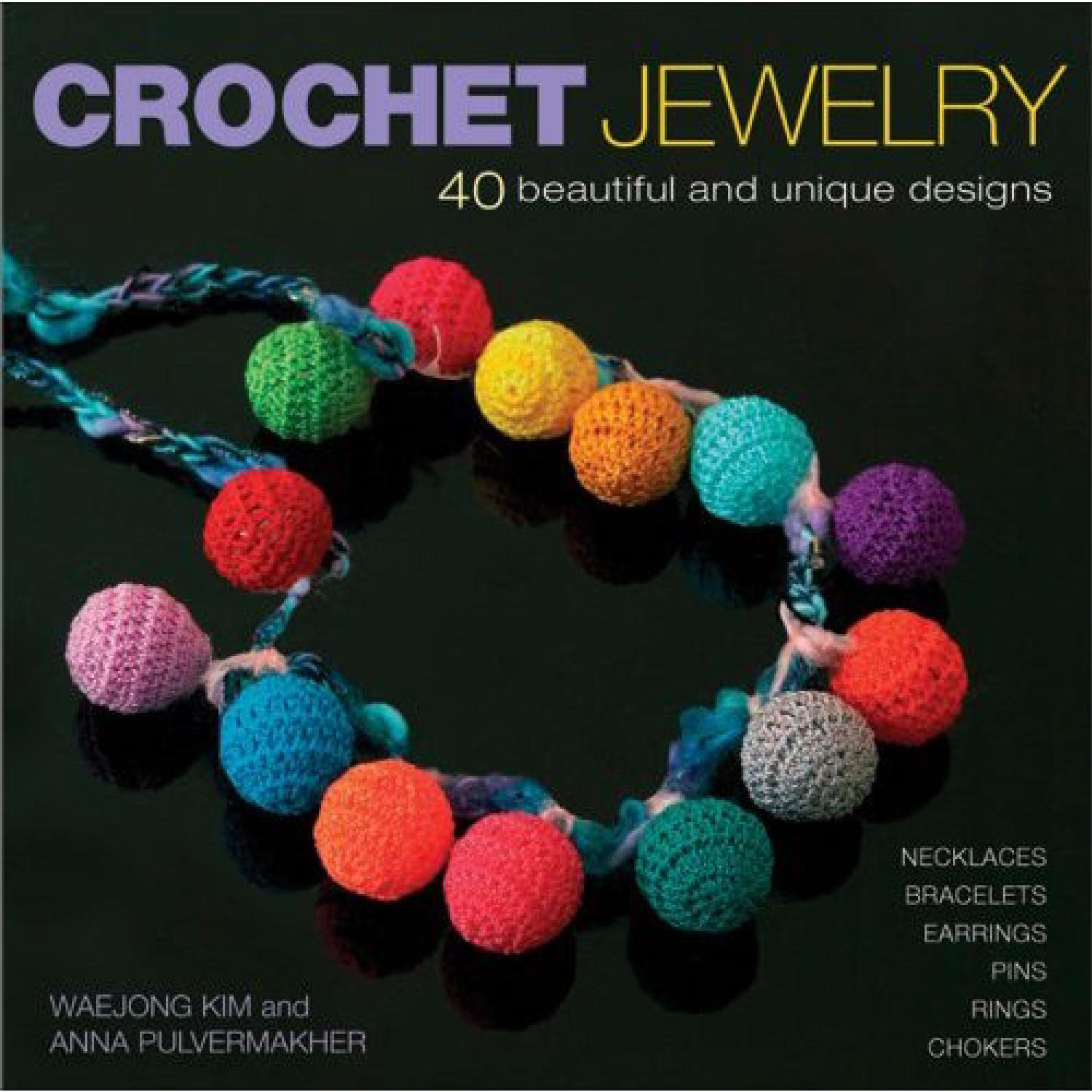 Knitting With Beads Book : Issuu crochet jewelry by darling gabella