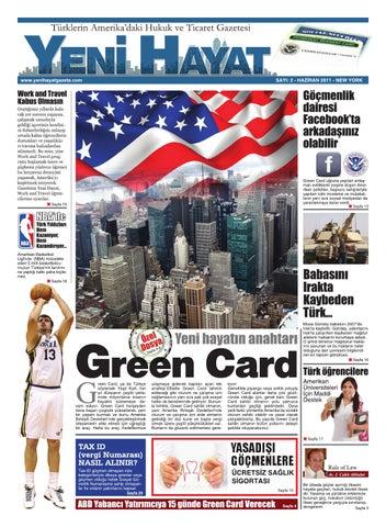 Yeni Hayat Gazetesi, Haziran 2011, Sayı 2