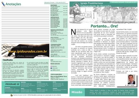 Informativo semanal 19-06-11