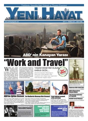 Yeni Hayat Gazetesi, Temmuz 2011, Sayı 3