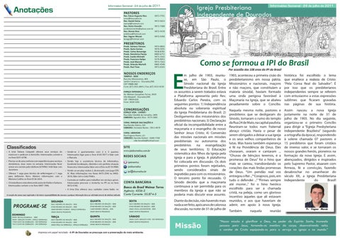 Informativo IPI 24-07-2011